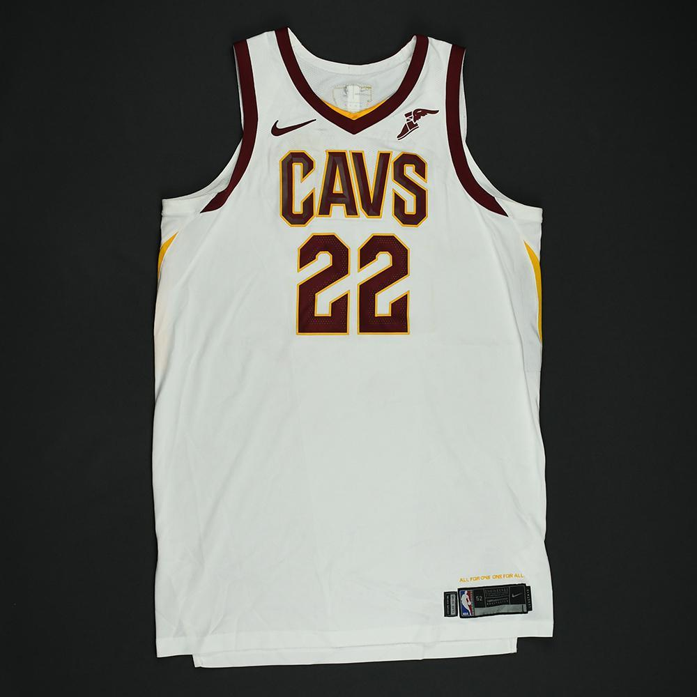 Larry Nance Jr. - Cleveland Cavaliers - 2018 NBA Finals - Game 2 - Game-Worn White Jersey