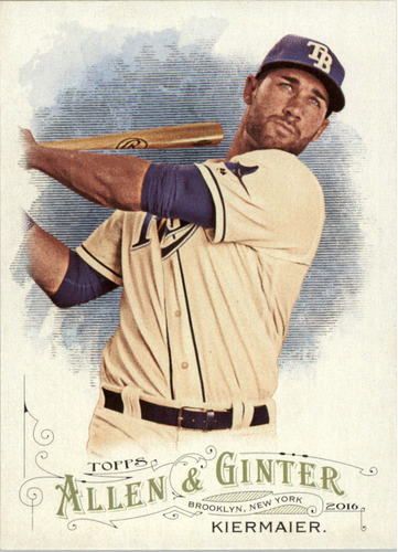 Photo of 2016 Topps Allen and Ginter #291 Kevin Kiermaier