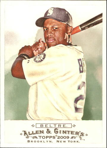 Photo of 2009 Topps Allen and Ginter #186 Adrian Beltre