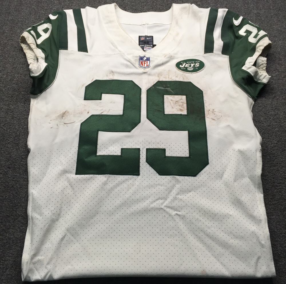 NFL Auction | Crucial Catch - Jets Bilal Powell Game Used Game ...