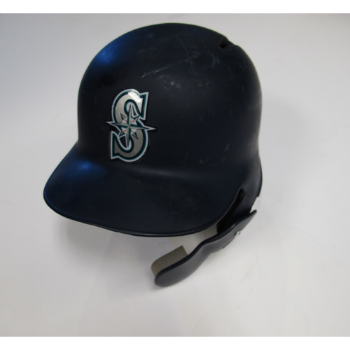 Photo of Seattle Mariners Mike Zunino Team-Issued Batting Helmet - 6/30/18 vs. KC
