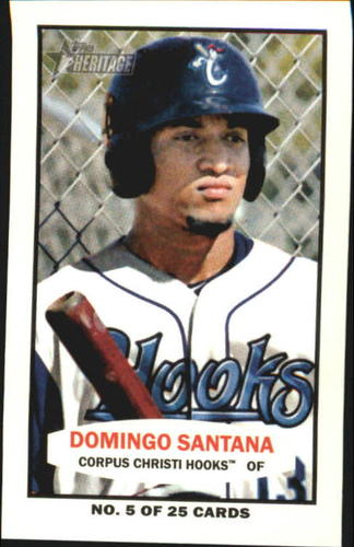 Photo of 2013 Topps Heritage Minors 1964 Bazooka #DS Domingo Santana