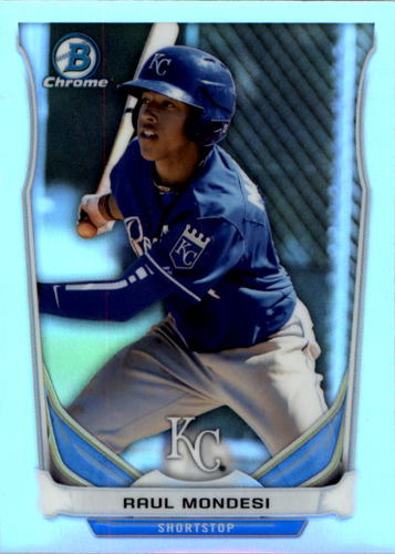 Photo of 2014 Bowman Chrome Draft Top Prospects Refractors #CTP6 Raul Mondesi