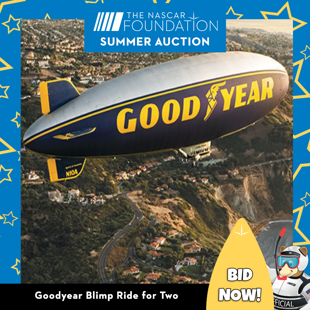 Goodyear Blimp Ride for Two (2)