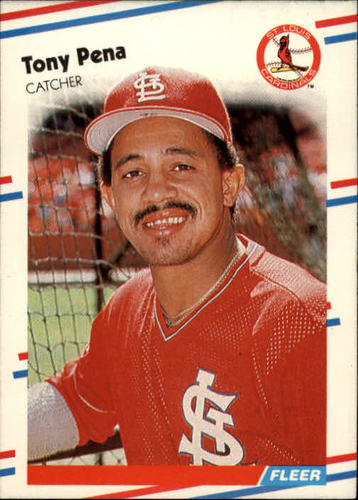 Photo of 1988 Fleer #45 Tony Pena