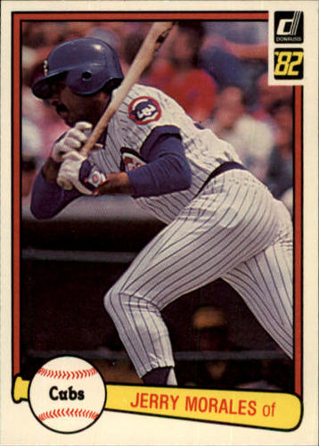 Photo of 1982 Donruss #309 Jerry Morales