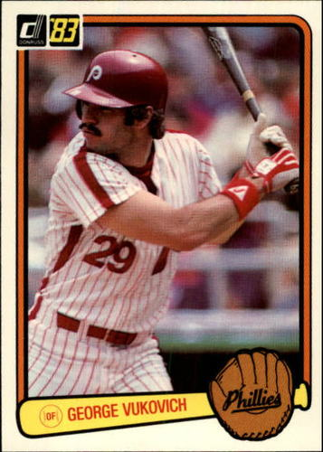 Photo of 1983 Donruss #315 George Vukovich