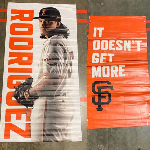 Photo of 2019 Street Banner - #57 Dereck Rodriguez