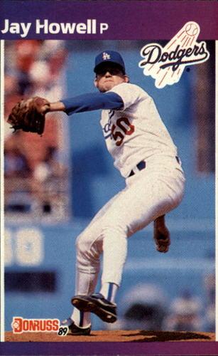 Photo of 1989 Donruss #610 Jay Howell DP
