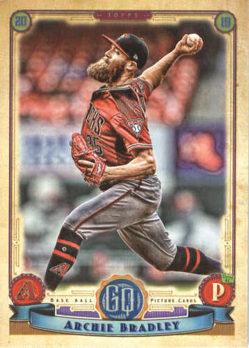 Photo of 2019 Topps Gypsy Queen #42 Archie Bradley