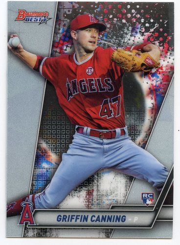 Photo of 2019 Bowman's Best #63 Griffin Canning RC