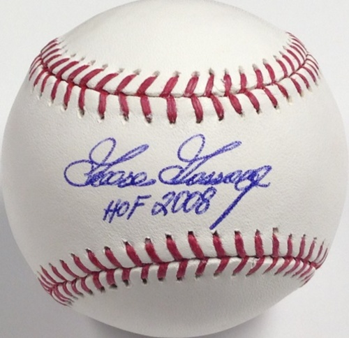 "Photo of Goose Gossage Autographed ""HOF 2008"" Baseball"