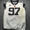London Games - Bengals Geno Atkins Game Used Jersey (10/27/2019) Size 46 w/ Captains Patch