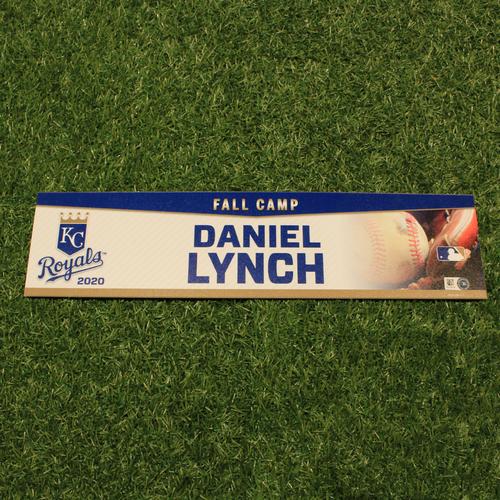 Team-Issued 2020 Fall Camp Locker Tag: Daniel Lynch