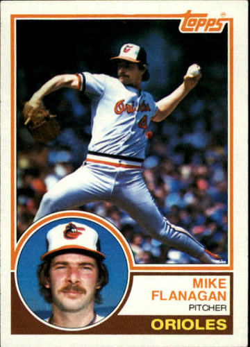 Photo of 1983 Topps #445 Mike Flanagan