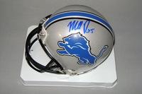 NFL - LIONS MATT PRATER SIGNED LIONS MINI HELMET