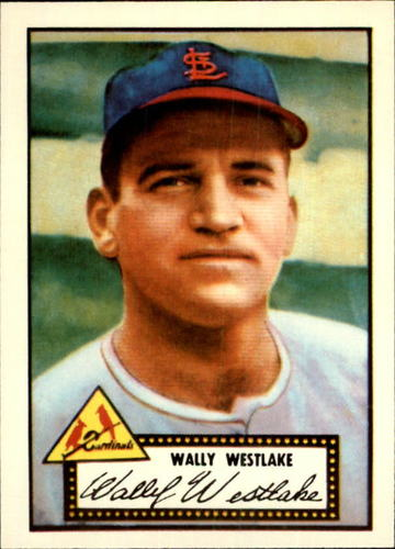 Photo of 1983 Topps 1952 Reprint #38 Wally Westlake