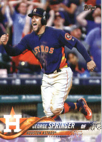 Photo of 2018 Topps #275 George Springer