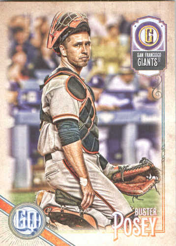 Photo of 2018 Topps Gypsy Queen #81 Buster Posey
