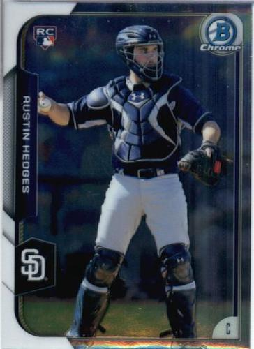 Photo of 2015 Bowman Chrome #188 Austin Hedges RC