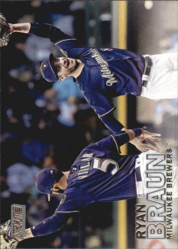Photo of 2016 Stadium Club #182 Ryan Braun