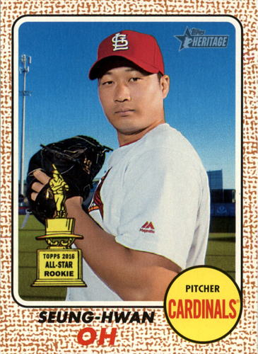 Photo of 2017 Topps Heritage #108 Seung-Hwan Oh