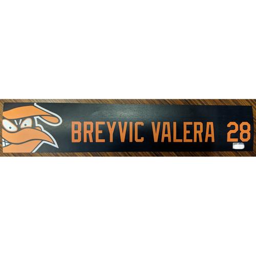 Photo of Breyvic Valera #28 - Locker Tag: Team-Issued