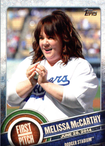Photo of 2015 Topps First Pitch #FP19 Melissa McCarthy