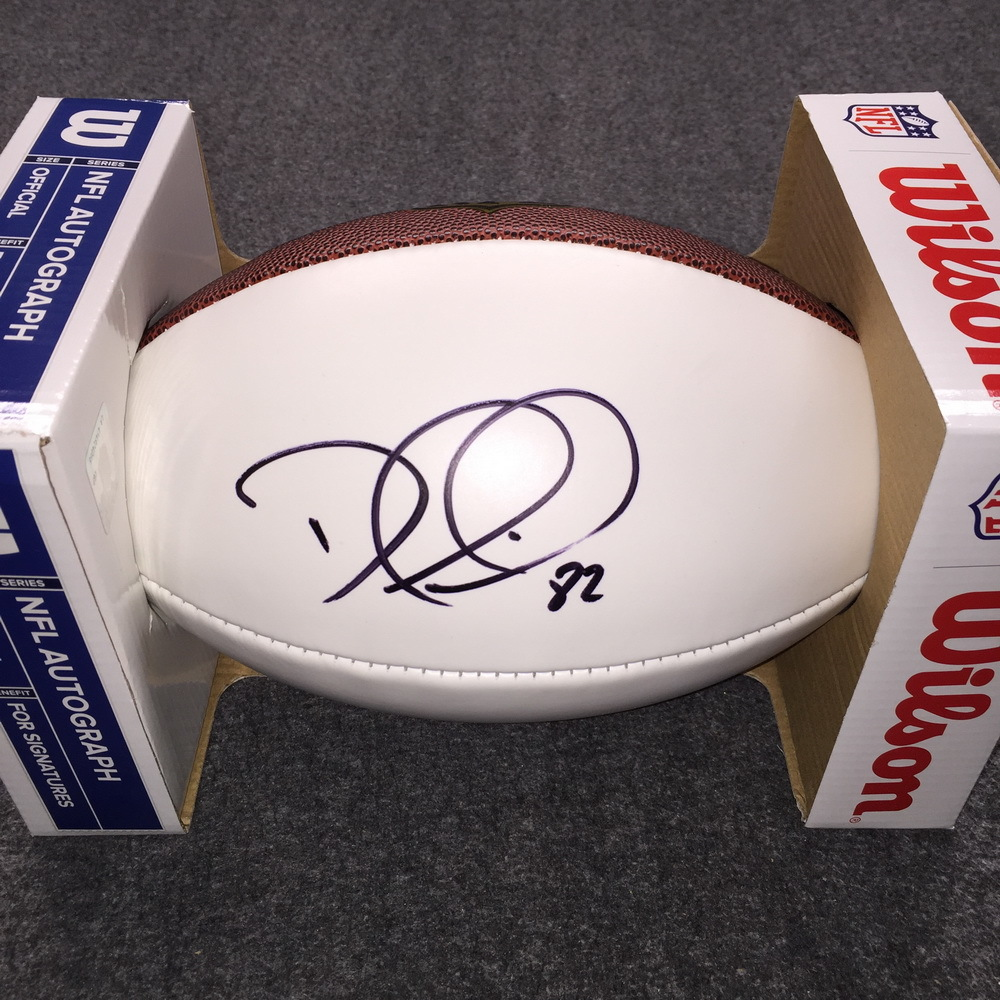NFL - Titans Delanie Walker signed panel ball