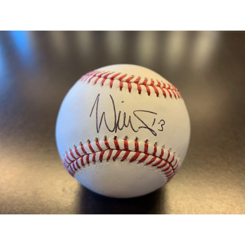 Photo of Giants Wives Auction: Will Smith Autographed Baseball
