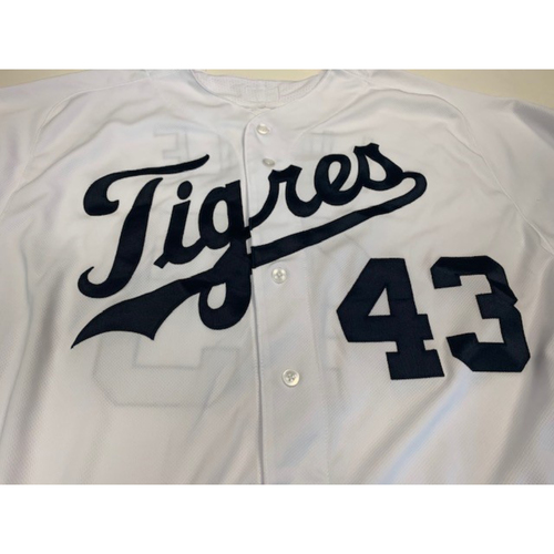 Photo of Team-Issued Fiesta Tigers Jersey: Steve Liddle