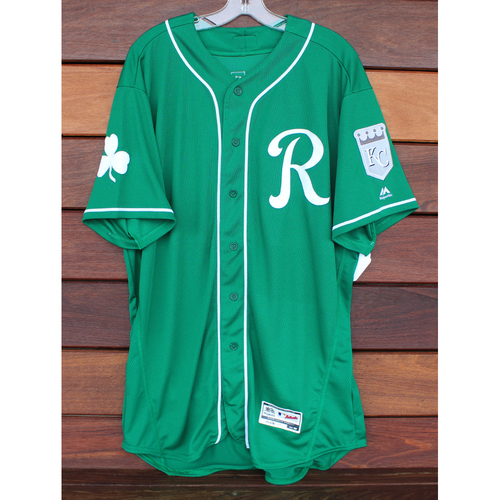 Photo of Team-Issued St. Patrick's Day Jersey: Wily Peralta (Size - 50)