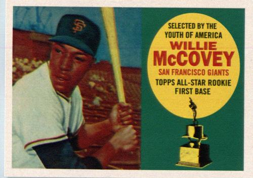 Photo of 2016 Topps Berger's Best #BB9 Willie McCovey