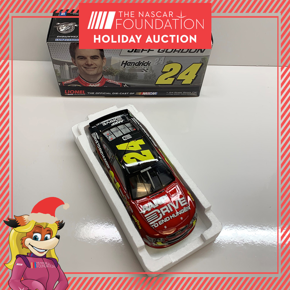 NASCAR's Jeff Gordon AARP/Drive to End Hunger Diecast!