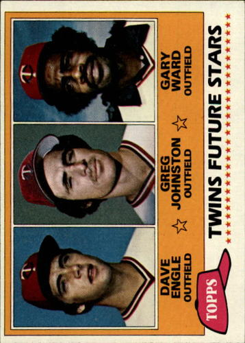 Photo of 1981 Topps #328 Dave Engle RC/Greg Johnston/Gary Ward