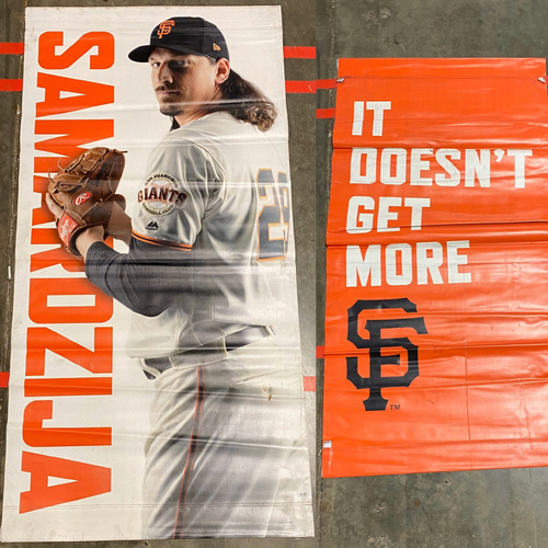 Photo of 2019 Street Banner - #29 Jeff Samardzija