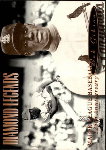 Photo of 1994 Upper Deck All-Time Heroes 125th Anniversary #156 Bob Gibson