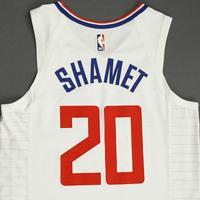 Landry Shamet - Los Angeles Clippers - Game-Worn Association Edition Jersey - 2019-20 NBA Season