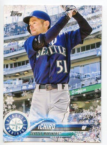 Photo of 2018 Topps Walmart Holiday Snowflake #HMW35 Ichiro