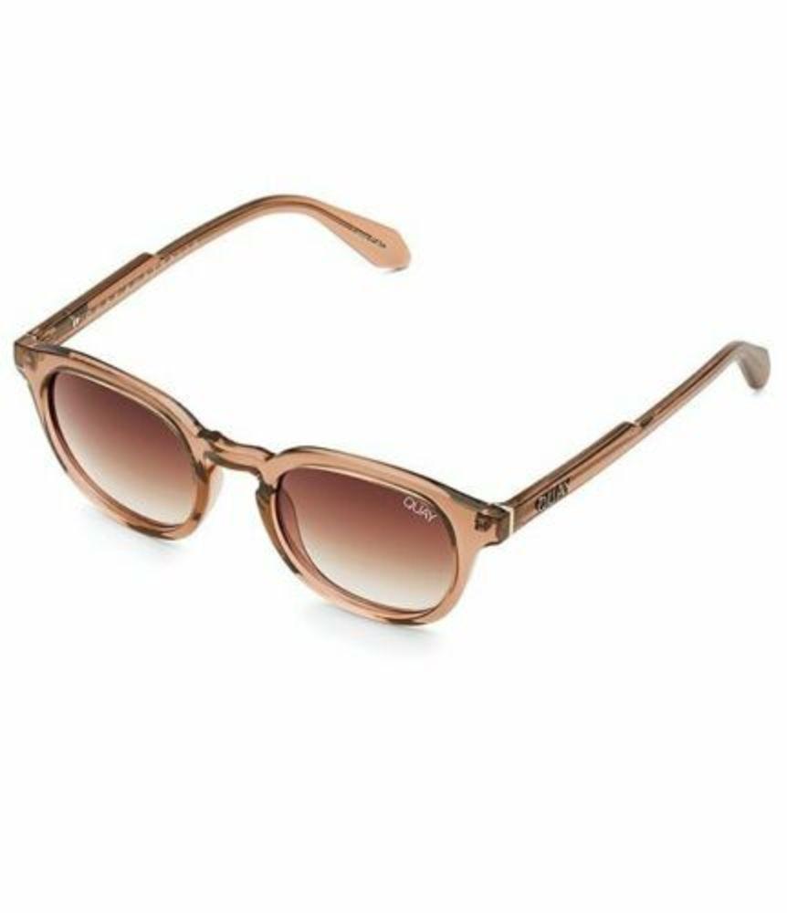 Photo of Quay Australia WALK ON Polarized Lens Coffee/ Brown Fade Sunglasses