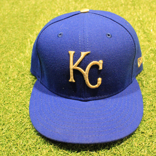 Photo of Game-Used 2020 Gold Hat: Brady Singer #51 (Size 7 3/8 - DET @ KC 9/25/20)
