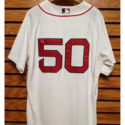 Photo of #50 Team Issued Home White Jersey