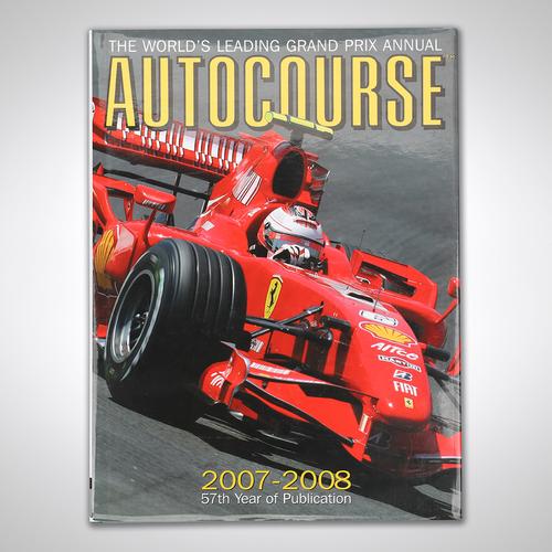 Photo of Kimi Räikkönen 2007 Signed Autocourse Annual