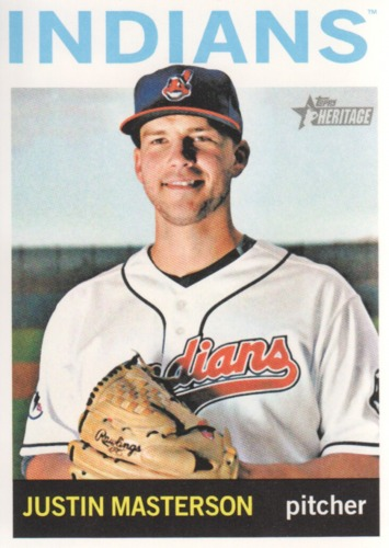 Photo of 2013 Topps Heritage #77 Justin Masterson