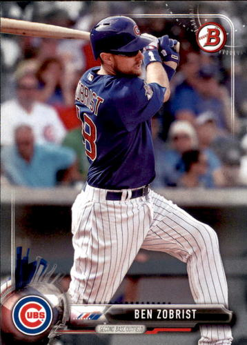 Photo of 2017 Bowman #65 Ben Zobrist