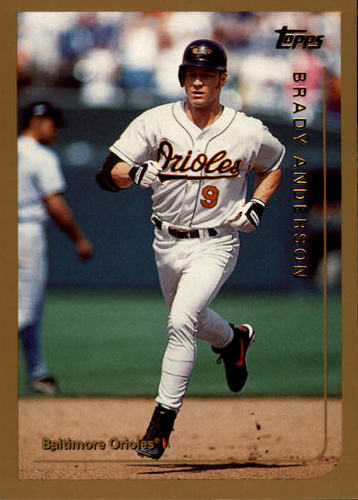 Photo of 1999 Topps #41 Brady Anderson