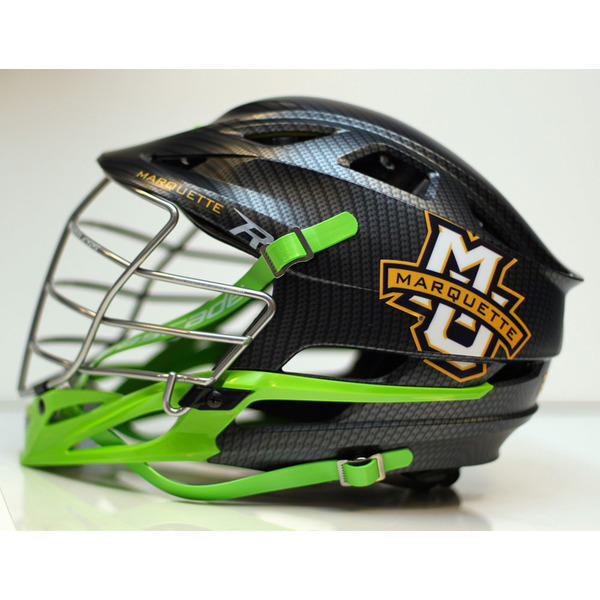 Photo of 2017 Marquette Lacrosse HEADstrong Helmet (Field)