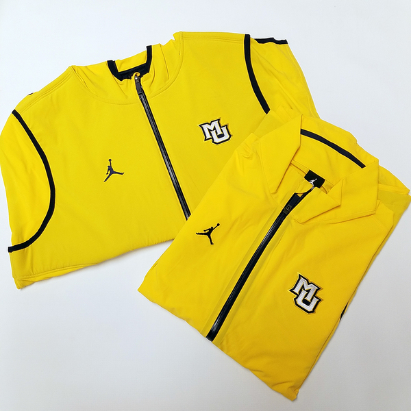 Photo of Marquette Brand Jordan Dri-Fit Long Sleeve Warm-up & Vest (XL)