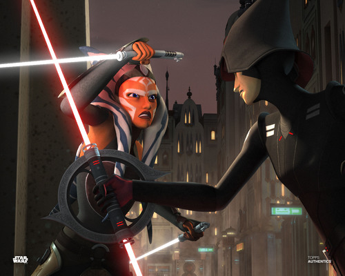Ahsoka Tano and Seventh Sister