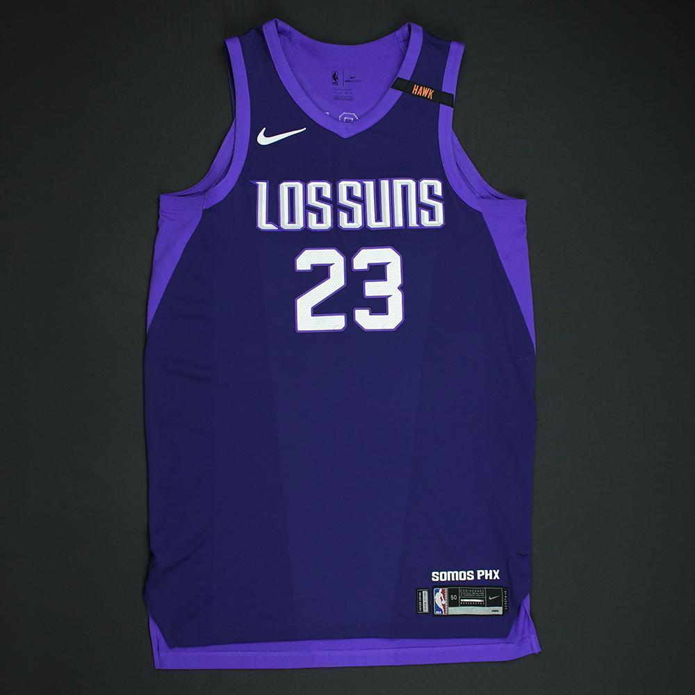 Danuel House Jr - Phoenix Suns - Game-Worn 'Los Suns' City Jersey - 2017-18 Season